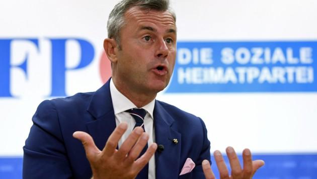 FPÖ-Chef Norbert Hofer (Bild: APA/HANS KLAUS TECHT)