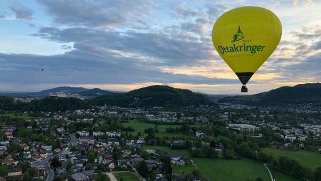 Wolfgang Spät bietet auch Ballonfahrten an. (Bild: Wolfgang Spät)