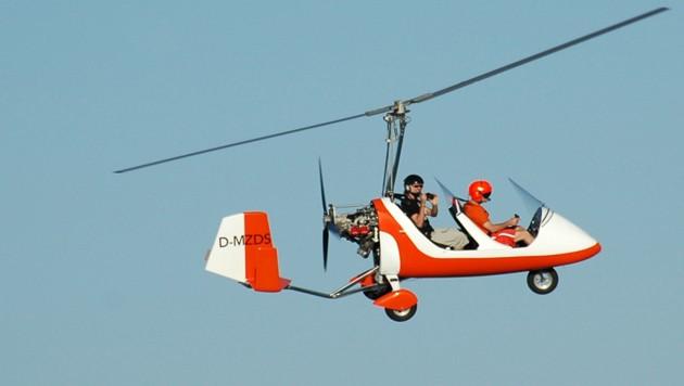 Vogelfrei fühlt man sich im Gyrocopter. (Bild: Wolfgang Spät)