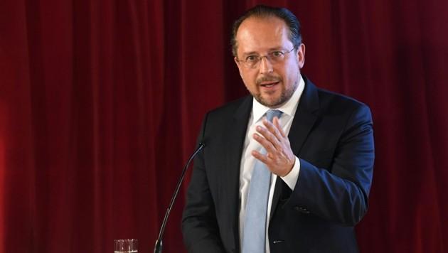 Außenminister Alexander Schallenberg (Bild: APA/HELMUT FOHRINGER)