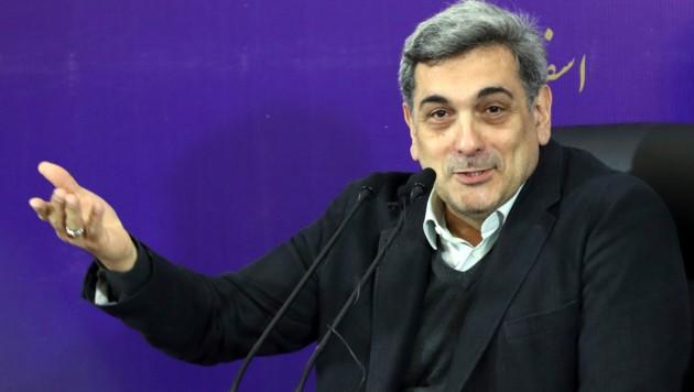 Der Bürgermeister der iranischen Hauptstadt Teheran, Pirouz Hanachi (Bild: AFP)