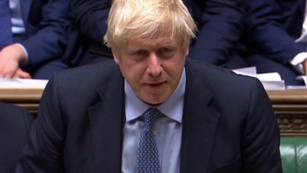 Premier Boris Johnson (Bild: APA/AFP/Parliamentary Recording Unit)
