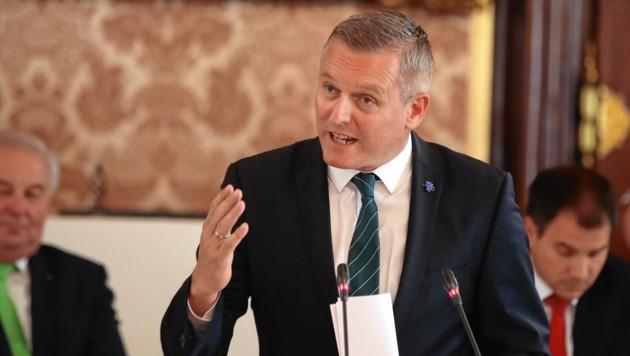 Mario Kunasek (FPÖ) (Bild: Sepp Pail)