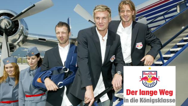 Red Bull Salzburg - Start 2005 (Bild: Joachim Maislinger/Krone)