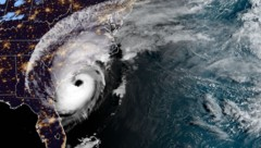 """Eine Satellitenaufnahme von Hurrikan """"Dorian"""" (Bild: AFP)"""