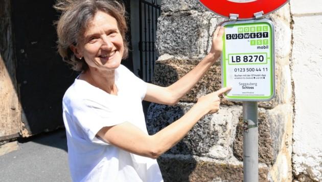 Die Heimschuherin Ursula Lechenauer (52) ist begeisterte Kundin der ersten Stunde.