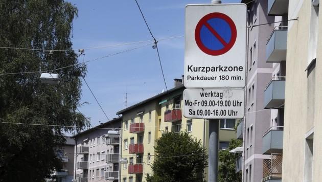 Die Kurzparkzonen sollen ausgeweitet werden. Die Frage lautet nur, bis wann. (Bild: Tröster Andreas)