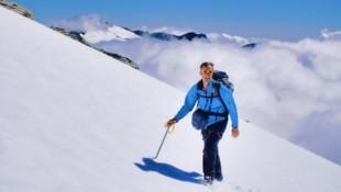 Perfektes Bergwetter mit Sonnenschein begleitete Gerhard beim Aufstieg auf den Hohen Sonnblick. (Bild: Wallner Hannes)