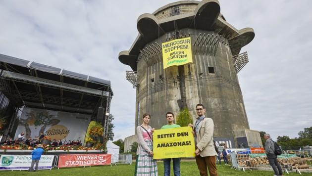 (Bild: APA/Greenpeace/Astrid Schwab)