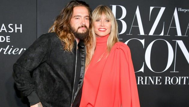 Tom Kaulitz und Heidi Klum bei der Harper's Bazaar ICONS 2019 in New York (Bild: 2019 Getty Images)