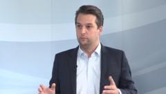 Wiens Vizebürgermeister Dominik Nepp (Bild: krone.tv)