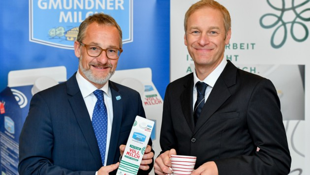 Partner: Michael Waidacher und Bernhard Kletzmair (r.) (Bild: Harald Dostal)