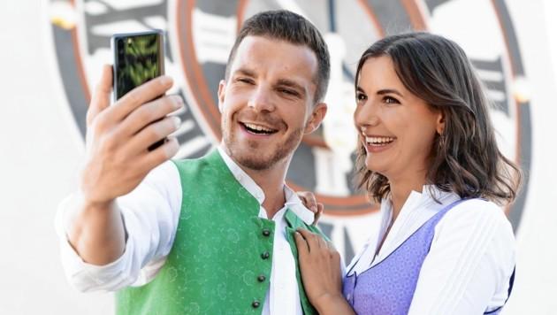Ob es ein Selfie in Tracht wird oder ein Landschaftsbild - erlaubt ist, was gefällt.
