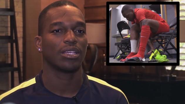 Jairzinho Pieter (Bild: Screenshots Facebok.com/E Falki Deportivo)