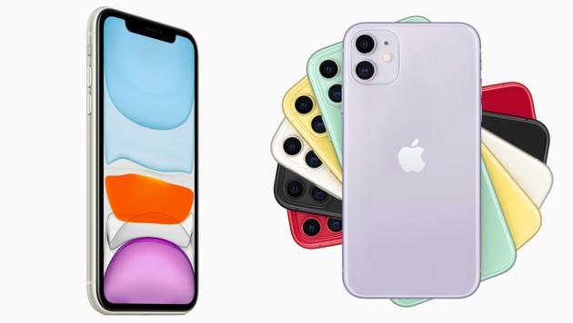 Apple iPhone 11 (Bild: Apple)