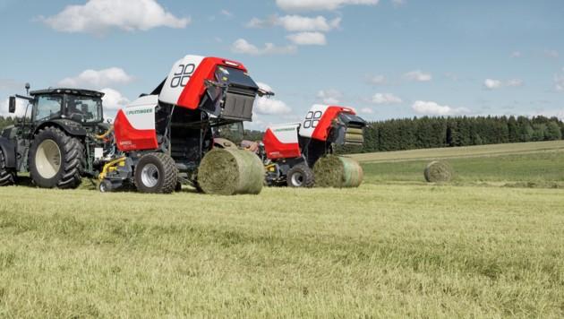 Landmaschinen von Pöttinger sind weltweit im Einsatz. (Bild: Pöttinger)