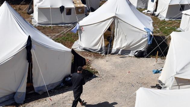 Die Stadt Bihac in Bosnien-Herzegowina an der Grenze zu Kroatien sieht sich durch eine steigende Zahl von Migranten überfordert. (Bild: AFP/Elvis Barukcic)