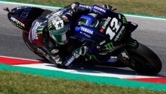 Vinales zeigte im Training stark auf (Bild: Associated Press)