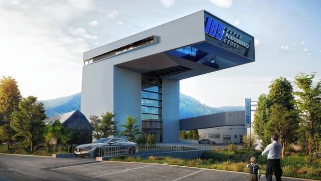 So soll er aussehen, der neue IBS-Tower in Teufenbach-Katsch. Ein Jahr Bauzeit ist für das Großprojekt veranschlagt.
