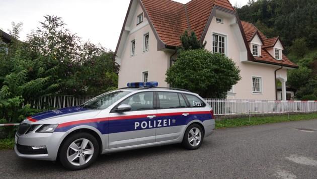 Das Haus der Pensionistin in Edlitz (Bild: einsatzdoku.at)