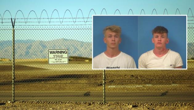 Verhaftet: Niederländer drangen in die Area 51 ein