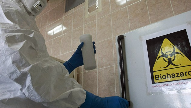 Explosion in Russen-Labor mit gefährlichen Viren