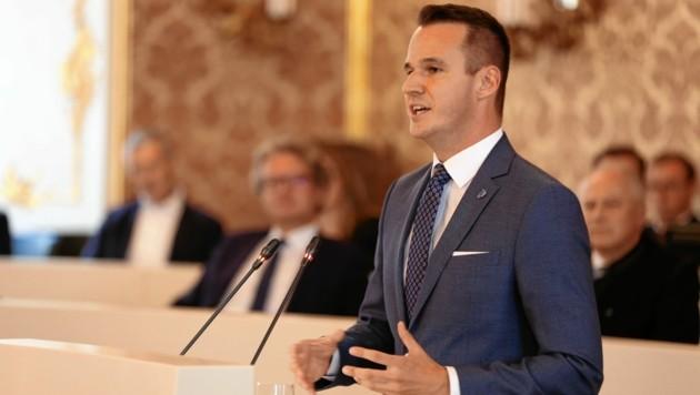 Stefan Hermann (FPÖ) (Bild: Pail Sepp)