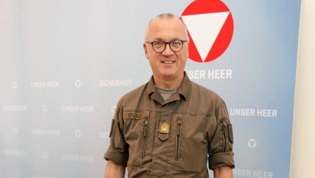 Der steirische Militärkommandant Heinz Zöllner (Bild: Christian Jauschowetz)