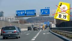 Bald keine Vignette mehr auf der A1 bis Salzburg-Nord? (Bild: MARKUS TSCHEPP)