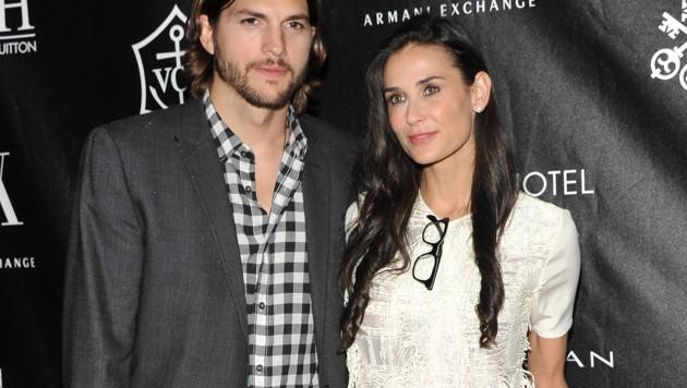 Ashton Kutcher und Demi Moore waren bis 2013 verheiratet. (Bild: 2011 Getty Images)