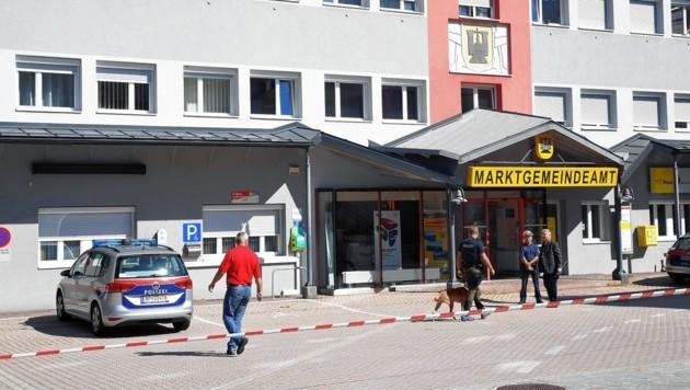 Das Gemeindeamt in Arnoldstein (Bild: Sobe Hermann)