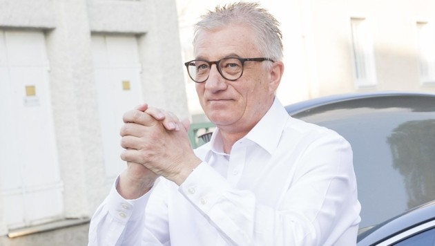 SPÖ-Chef Walter Steidl sucht Nachfolger (Bild: APA/NEUMAYR/LEO)