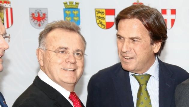Hans Niessl (links) und Franz Voves