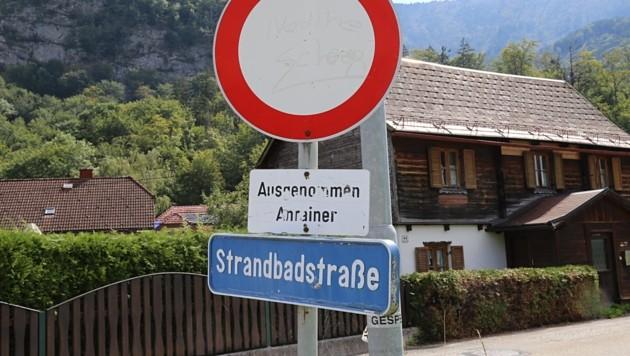 Das Stollensystem in Rindbach ist nur über eine sehr schmale Sackgasse erreichbar. (Bild: Hörmandinger Reinhard)