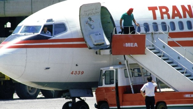 Tagelang befand sich das Passagierflugzeug in der Gewalt der Terrorgruppe Islamischer Dschihad. (Bild: AFP)