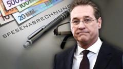 Wurde schon 2015 belastet: Ex-FPÖ-Chef Heinz-Christian Strache (Bild: APA/HELMUT FOHRINGER, stock.adobe.com, krone.at-Grafik)