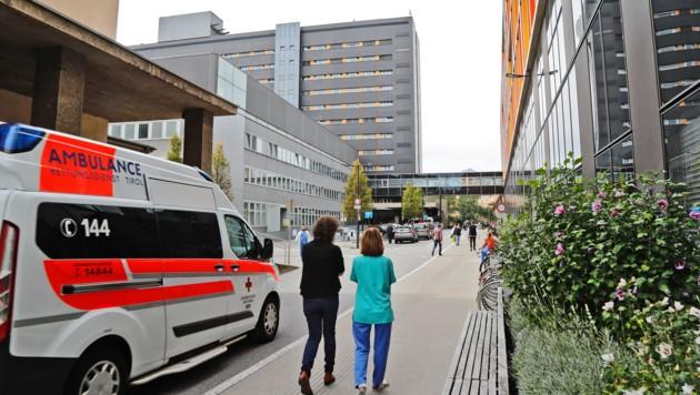 Die Uniklinik Innsbruck (Bild: Christof Birbaumer/Kronen Zeitung)