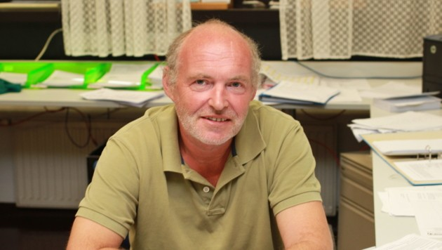 Chefinspektor Gerald Sakoparnig (Bild: Christoph Gantner)
