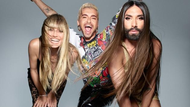"""Heidi Klum, Conchita Wurst und Bill Kaulitz suchen die """"Queen of Drags"""""""