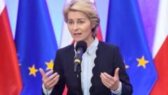 Die künftige EU-Kommissionspräsidentin Ursula von der Leyen (Bild: APA/AFP/Janek Skarzynski)