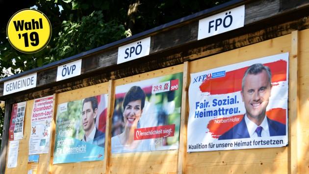 Wer soll's denn sein? Viele Salzburger Bürger haben sich schon per Wahlkarte entschieden.