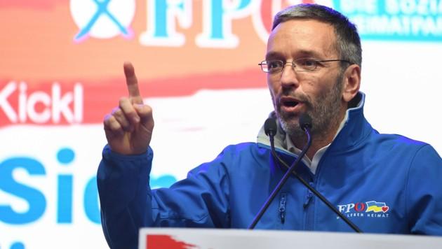 Ex-Innenminister Kickl (Bild: AFP)