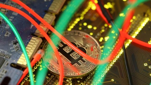 """Kryptowährungen wie """"Bitcoin"""" werden schon länger gehypt (Bild: Dado Ruvic)"""