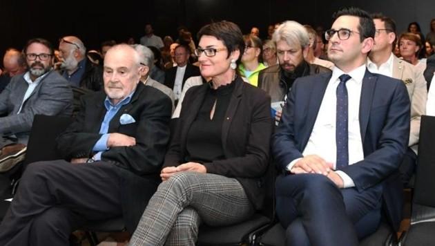 Unter den Gästen waren auch Gesundheitsreferentin Beate Prettner und der flämische Gesundheitsminister Antonios Antoniadis. (Bild: Büro Prettner)