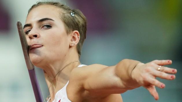 Speerwerferin Victoria Hudson (Bild: Associated Press)