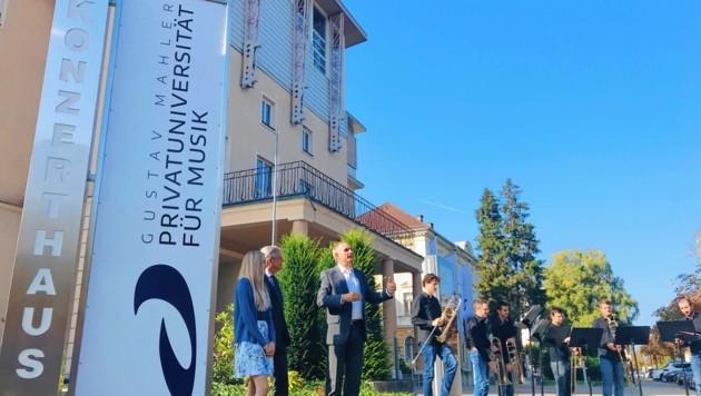 Die Privatuniversität lockt musikalische Studierende nach Klagenfurt. (Bild: Clara Milena Steiner)