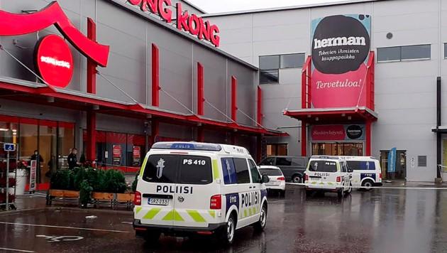 Die Bluttat ereignete sich in diesem Einkaufszentrum. (Bild: AP)