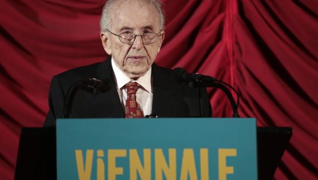 Viennale-Präsident Eric Pleskow ist am Dienstag, 1. Oktober 2019, im Alter von 95 Jahren verstorben. (Bild: APA/GEORG HOCHMUTH)