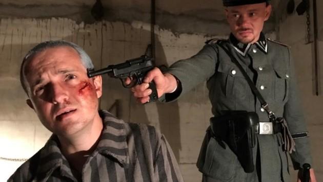 Lucas Zolgar spielt den Tiroler Priester Otto Neururer, der von den Nazis ermordet wurde (Bild: avgproduktion)