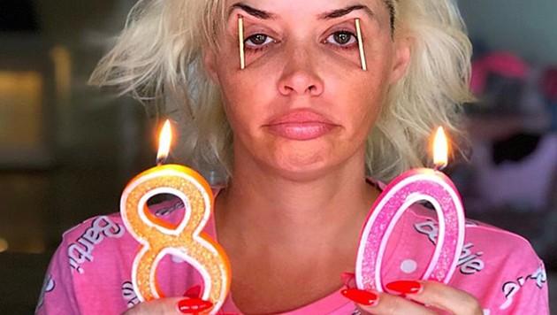 Daniela Katzenberger fühlt sich manchmal wie 80 - es ist ihr aber dennoch egal. (Bild: instagram.com/danielakatzenberger)